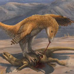 Deinonychus Prey Restraint